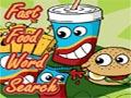 Fastfood Wortsuche