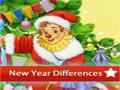 Neujahr 5 Unterschiede